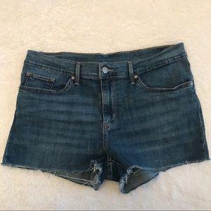 Levi's Denim Cutoff Shorts!